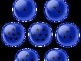 Esferas del Dragón de Energía Negativa