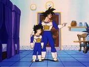 Goku e Gohan nella Stanza Speciale