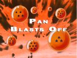 Pan Blasts Off