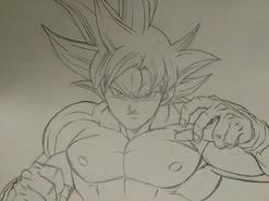 Son Goku egoísta bosquejo Yuya Takahashi