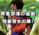 The Fiercely Overwhelming Assault! Gohan's Last Stand!!