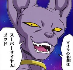 Beerus habla del Supersaiyano Dios manga a color