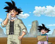 Son Goten linea temporale di Goku Black