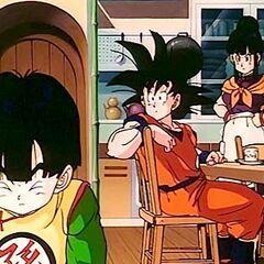 La cucina in casa di Goku.