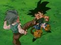 Goku vs Krillin GT