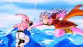 Majin Boo vs Kaio shin de l'ouest