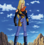 Super 17 (Androide 18 absorbida) HQ
