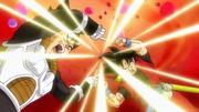 Xeno Goku and Xeno Vegeta