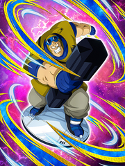 Dokkan Battle Boss Gurumes Warrior Bongo card (Curse of the Blood Rubies - Bongo SSR)