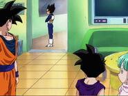 Goku,Vegeta,GohanAndBulma