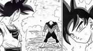 Goku doctrina egoísta Señal y Jiren manga 39