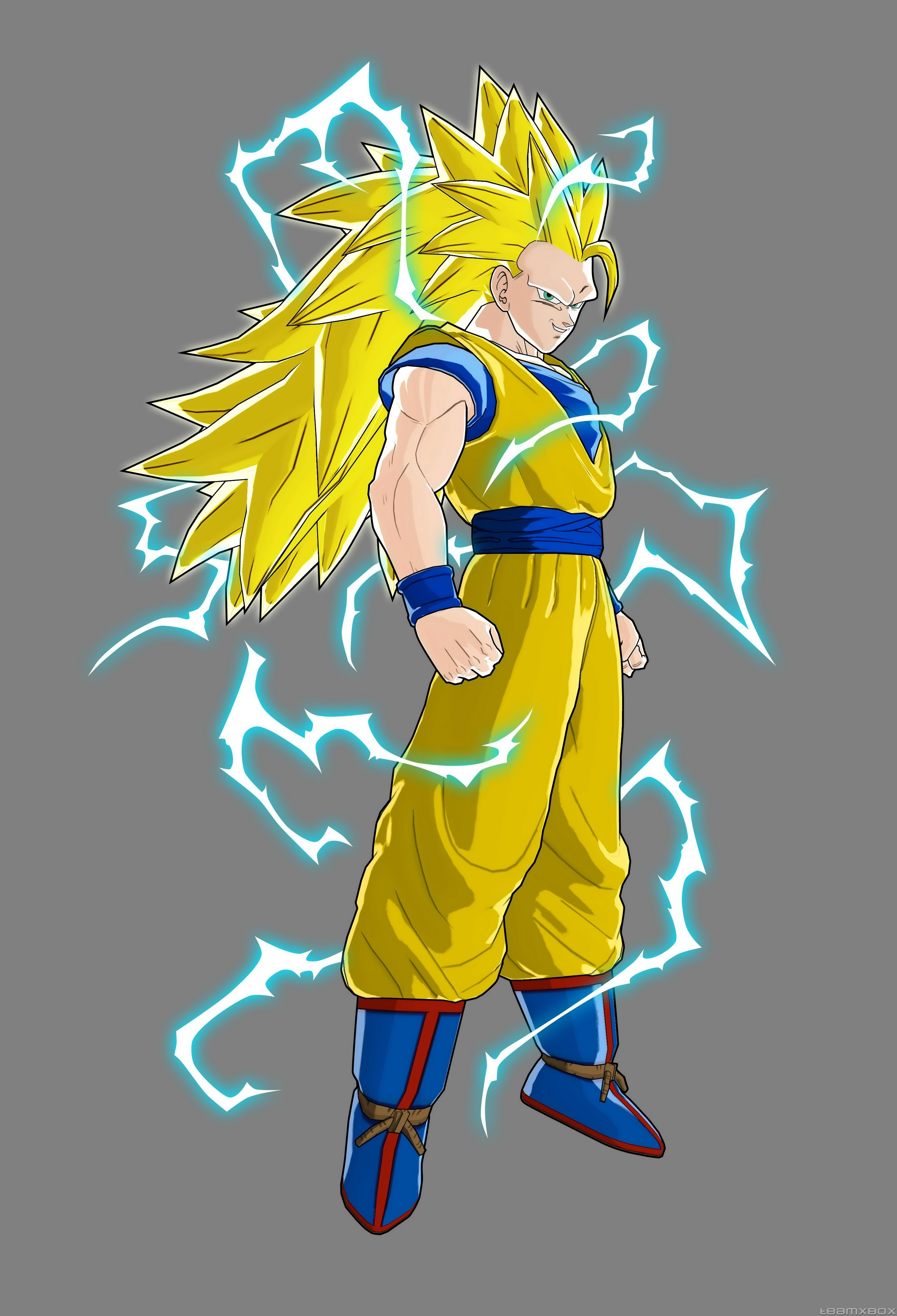 Goku Super Saiyan 3 Raging Bals