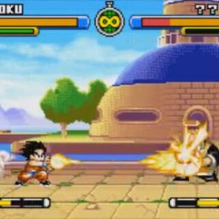 Il palazzo di Baba in Dragon Ball Advanced Adventure.