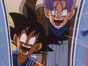 Goku and Trunks Even More Shocked