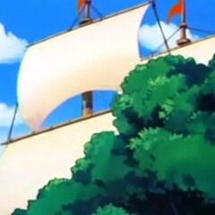Il vascello dei clan dei mercenari.
