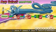 Map Select Shin Budokai 2