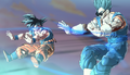 XN - Future Warrior helps Goku's Spirit Bomb