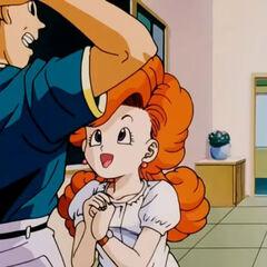 Angela che il giorno dopo corteggia un altro ragazzo a scuola.