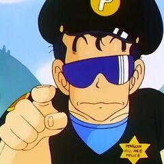 Taro Soramame con gli occhiali da sole.