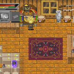 Una delle stanze all'interno del Covo dei Ladri.