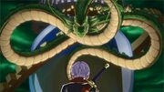 DBXV Future Trunks summons Shenron 1221-07