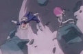 Frieza about to blast trunks