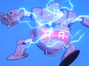Il robot del Segretario Black esplode