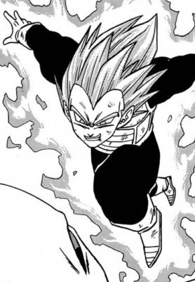 MSSB Vegeta Aura version