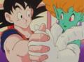 Princess Snake dancing with Goku-1-