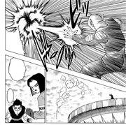 Gamisaras viene eliminato da Piccolo