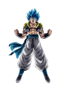 Gogeta Super Saiyan Azul Dokkan Battle render