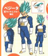 Super Saiyan Azul Fortalecido