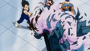 Vegeta distrugge la Punching Machine