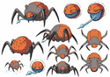 6 legged Bug Monsters