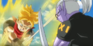SS Trunks (Prisión Planetaria) vs Fu