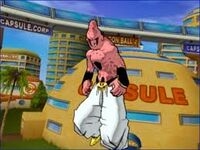 Super buu absrobido cell