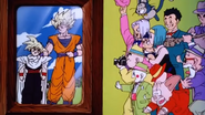 Z-Fighters as Gentlemen (Dragon Ball Z Movie 9 - Bojack Unbound Ending, 1993 Toei Animation)