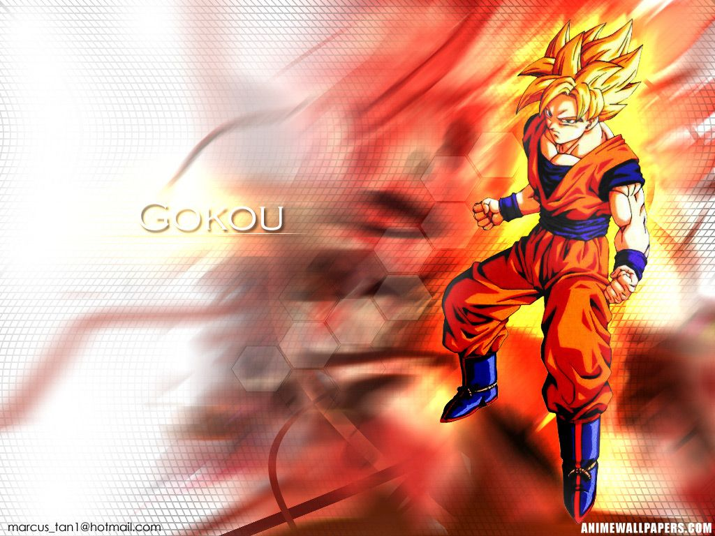 Goku In Red Wallpaper 46s
