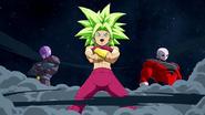 Secuencia de introducción de Kafla en Dragon Ball FighterZ