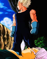 End of Earth - Vegeta w Trunks