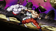 Freezer et goku vs Jiren