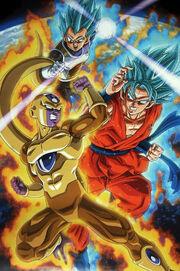 Goku and Vegeta vs Frieza