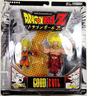 Jakks Pacific Dragon Ball Z Good vs Evil SS Goten vs SS Broly
