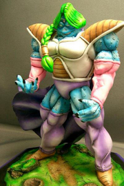 Model Kit Statue Zarbon Monster