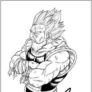 Paragas disegnato da Toyotaro