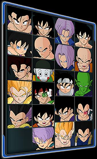 PersonajesRagingBlast1