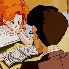 Angela in classe viene ripresa dal professore.