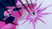 Ginyu Goku Deflects Blast