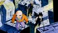 Kuririn, Gohan et Trunks enquêtent