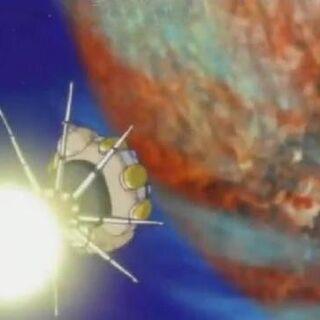 Il pianeta Luud nel trailer di Dragon Ball Heroes.